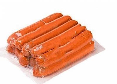 Упаковка сосисок в вакууме