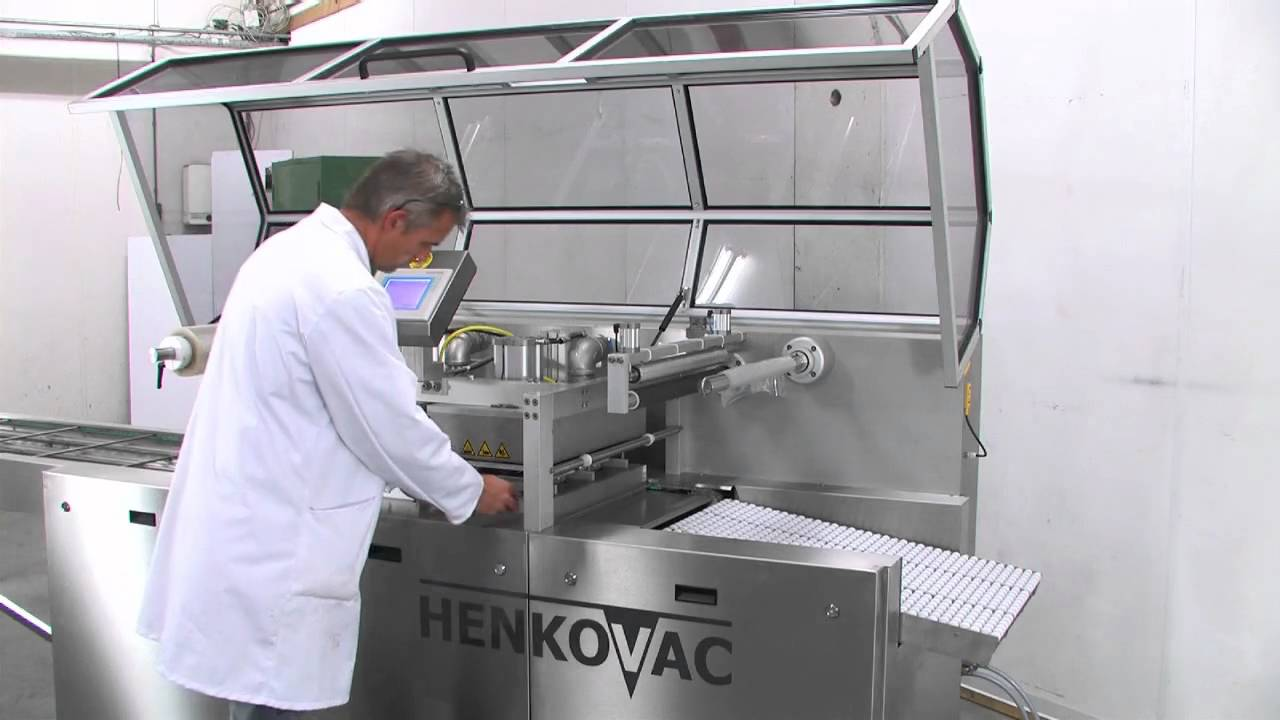 Eļļas maiņa vakuuma iepakošanas iekārtās Henkovac