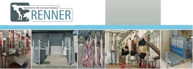 Оборудование для убоя фирмы Renner из Германии
