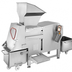 Fully automatic dicer with outstanding cutting hygiene VA 125 N