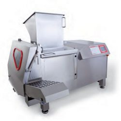 Large fully automatic dicer for frozen products Maxx 150 LP